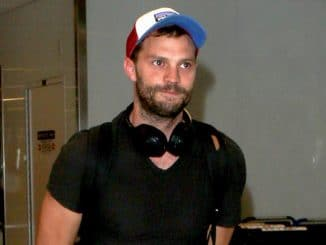 Jamie Dornan Sighted at LAX Airport on August 1, 2017