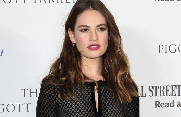 Lily James - 2017 National Theatre Up Next Gala