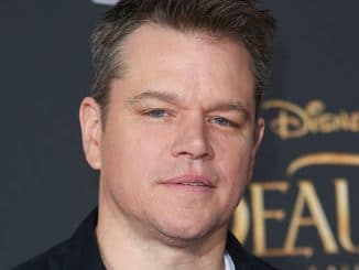 "Matt Damon - ""Beauty And The Beast"" Los Angeles Premiere"