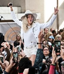 """Miley Cyrus in Concert on NBC's """"The Today Show"""" at Rockefeller Plaza in New York City - 4"""