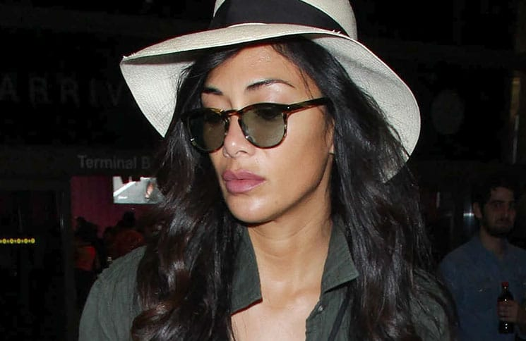 Nicole Scherzinger Sighted at LAX on October 6, 2017