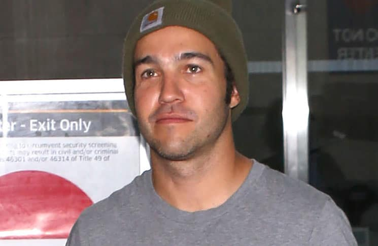 Pete Wentz Sighted at LAX Airport on July 28, 2017