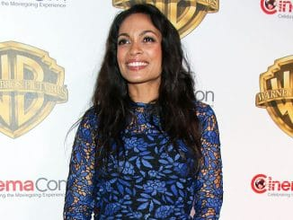 Rosario Dawson - CinemaCon 2017 - Warner Bros. Pictures Presentation
