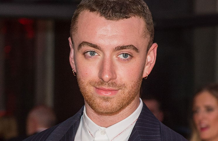 Sam Smith - Virgin Holidays Attitude Awards 2017