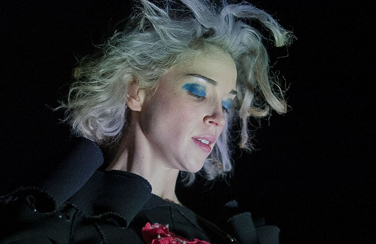 St. Vincent in Concert at the Olympia Theatre in Dublin