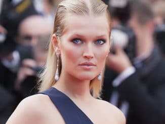 Toni Garrn - 70th Annual Cannes Film Festival