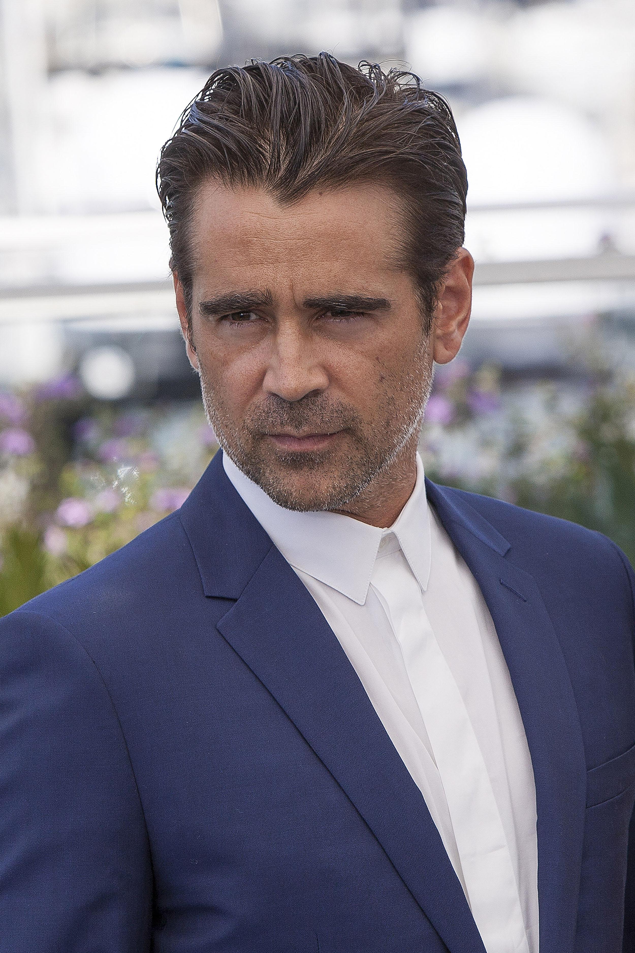 Colin Farrell schlemmt...