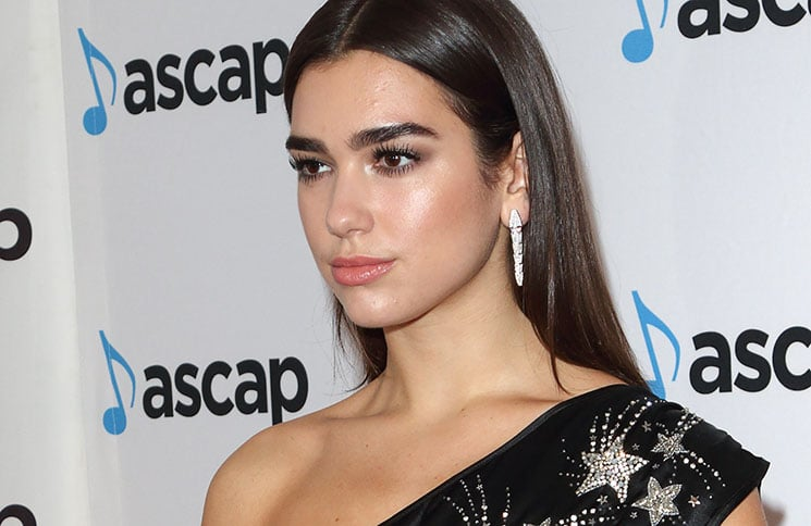 Dua Lipa - ASCAP London Music Awards 2017