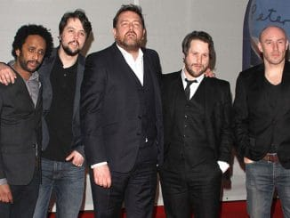 Elbow - BRIT Awards 2012 - Arrivals