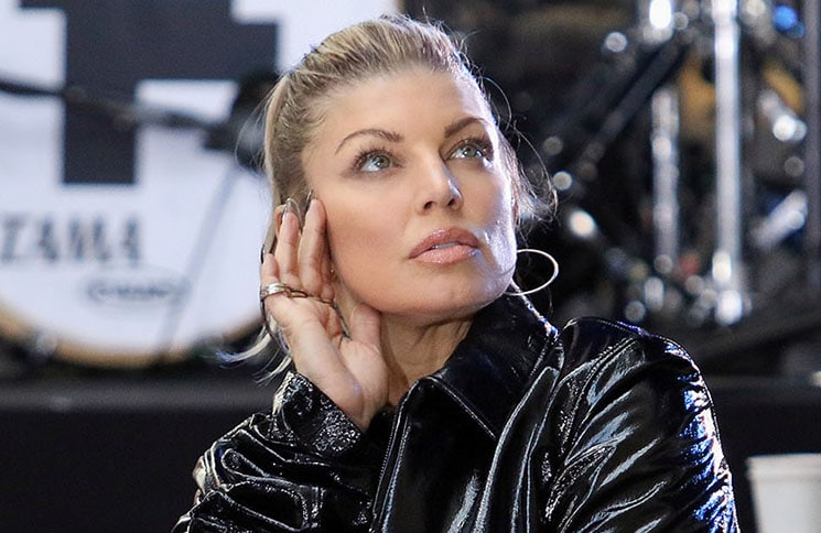 """Fergie in Concert on NBC's """"Today"""" Show at Rockefeller Plaza in New York City"""