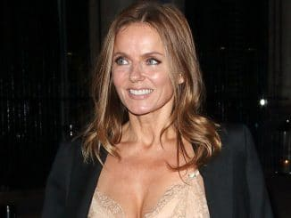 "Geri Horner - ""Britain's Got Talent"" Childline Ball 2017"
