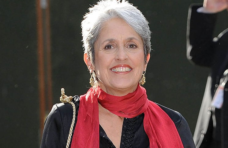 Joan Baez - Nelson Mandela's 90th Birthday Dinner Celebration