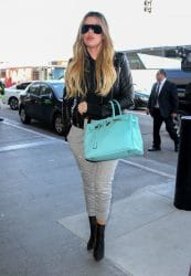 Khloe Kardashian Sighted at LAX Airport on February 13, 2017