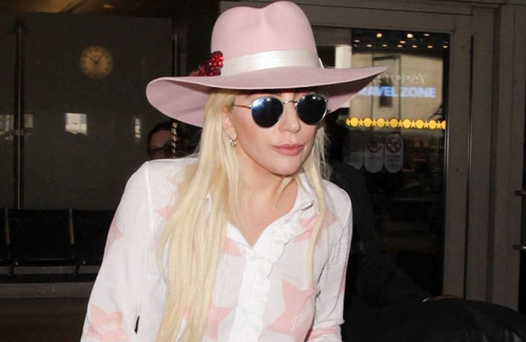 Lady Gaga Sighted at LAX Airport - 2