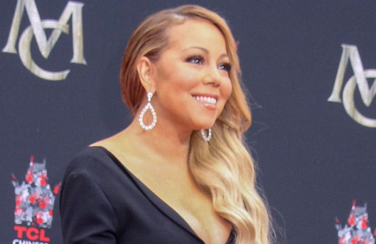 Mariah Carey Hand and Footprint Ceremony - 2