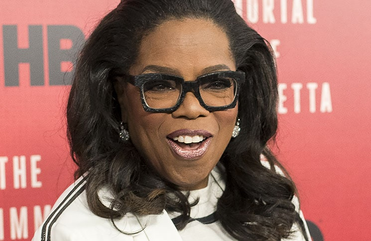 "Oprah Winfrey - HBO's ""The Immortal Life of Henrietta Lacks"" TV Movie New York City Premiere"