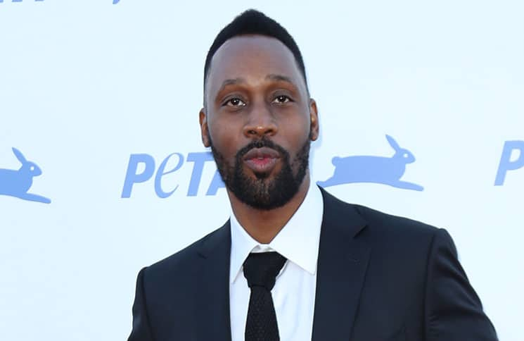 RZA - PETA's 35th Anniversary Party - Arrivals