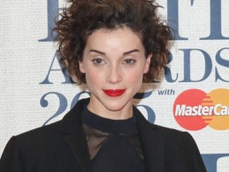 St. Vincent - BRIT Awards 2015