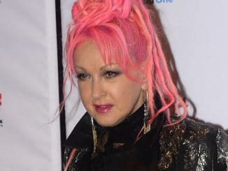 "Cyndi Lauper - ""America Salutes You"" Concert at Rosemont Theater in Chicago"