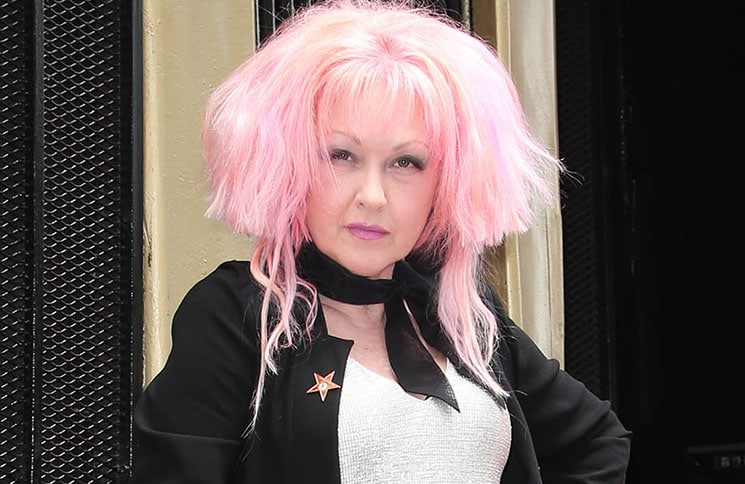 Cyndi Lauper and Harvey Fierstein Honored with a Double Star Ceremony on the Hollywood Walk of Fame
