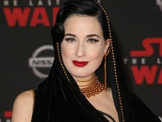 "Dita Von Teese - ""Star Wars: The Last Jedi"" World Premiere - Arrivals"
