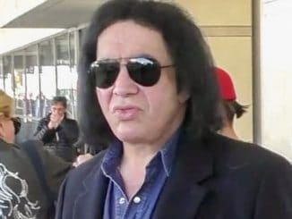 Gene Simmons, Nick Simmons and Shannon Tweed Sighted Arriving at LAX on December 29, 2016