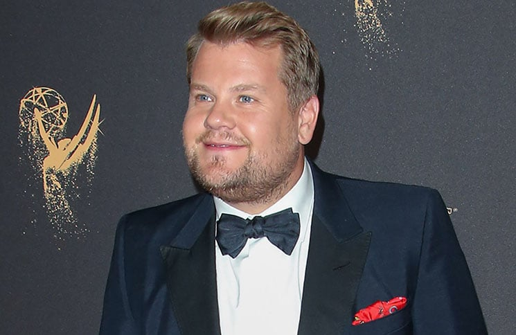 James Corden - 2017 Creative Arts Emmy Awards