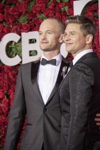 Neil Patrick Harris, David Burtka - 70th Annual Tony Awards