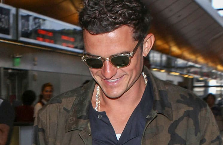 Orlando Bloom Sighted at LAX Airport on July 10, 2017