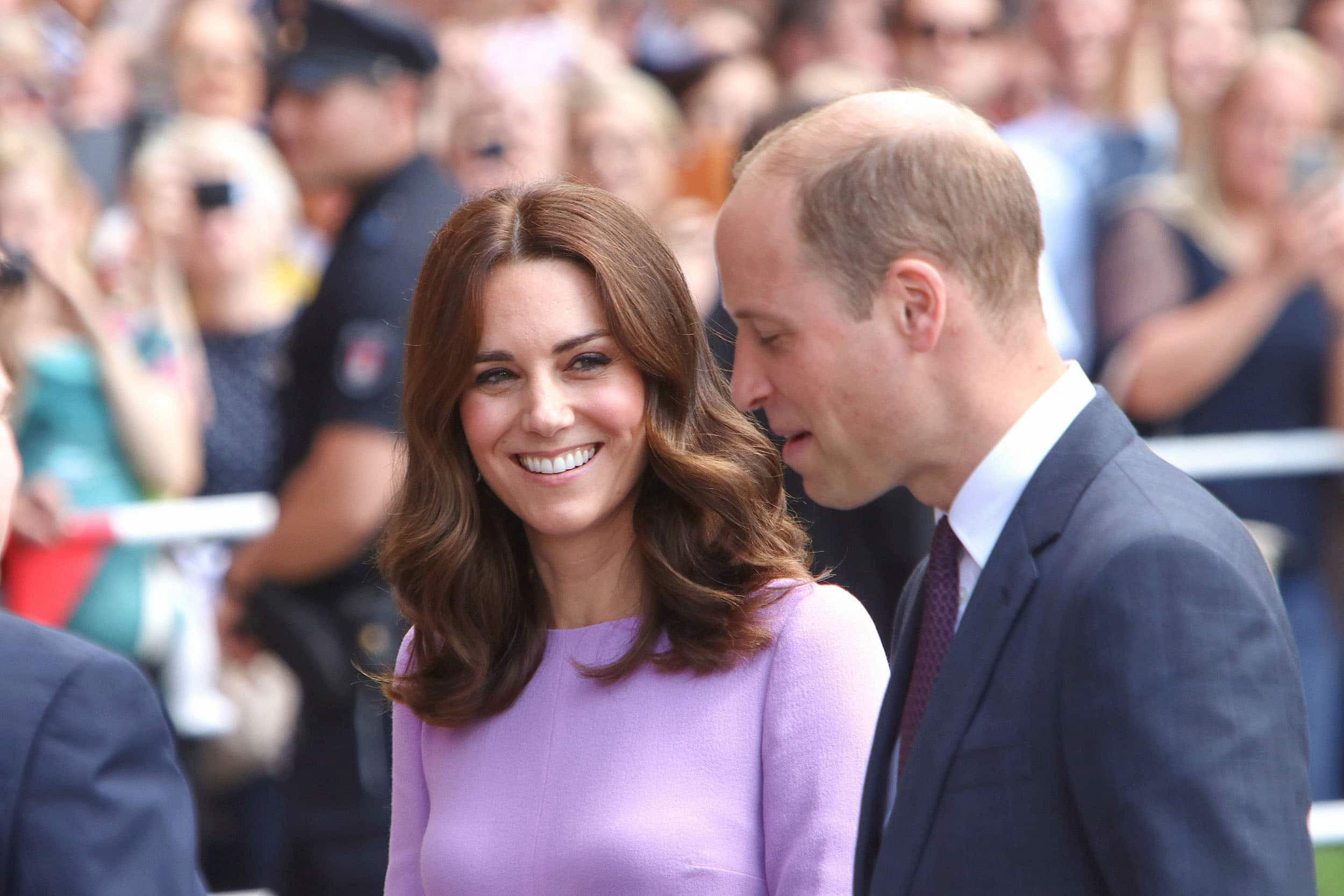Prinz William Duke of Cambridge and Herzogin Kate Duchess of Cambridge- The Duke and Duchess of Cambridge Visit International Maritime Museum Hamburg