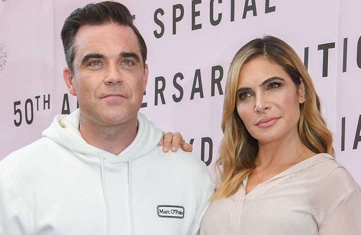 Robbie Williams, Ayda Field - Marc O'Polo Launches 50th Anniversary Special Edition Sweatshirt with Robbie Williams - 2
