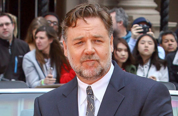 """Russell Crowe - """"The Nice Guys"""" UK Premiere"""