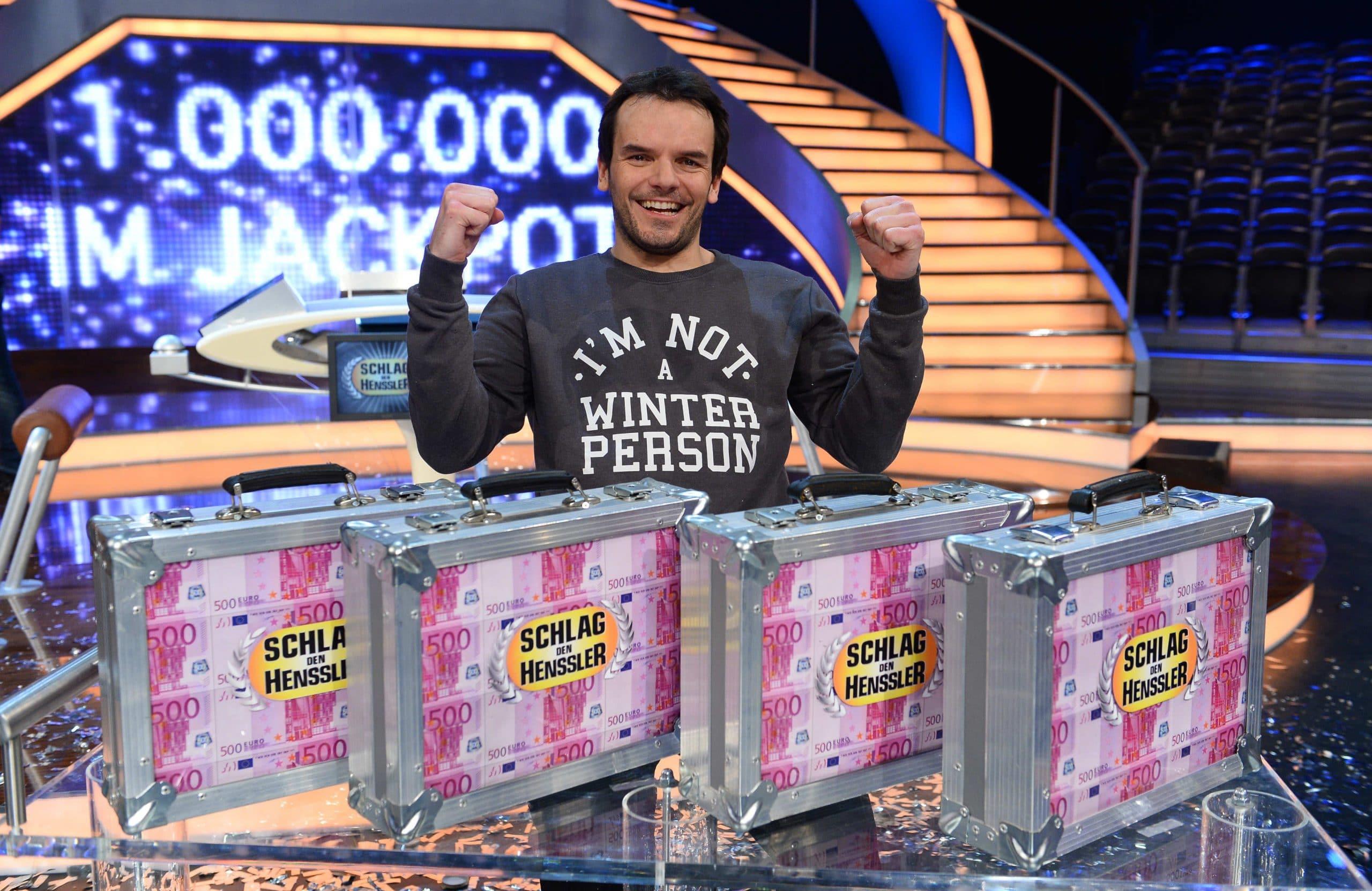 Steffen Henssler gewinnt und schraubt Jackpot auf eine Million hoch