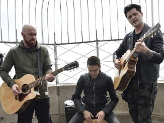 The Script - Empire State Building Hosts The Script - 2