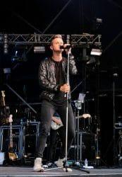 Tom Chaplin - Cornbury Music Festival 2017