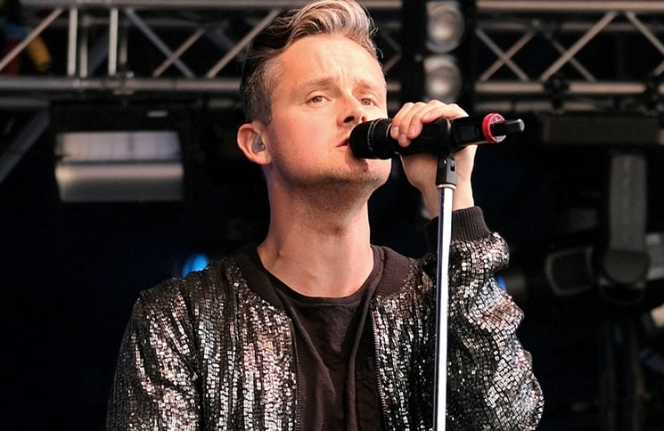 Tom Chaplin - Cornbury Music Festival 2017