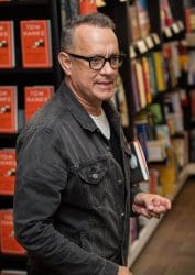 """Tom Hanks """"Uncommon Type"""" Book Signing at Waterstones Piccadilly on November 2, 2017"""