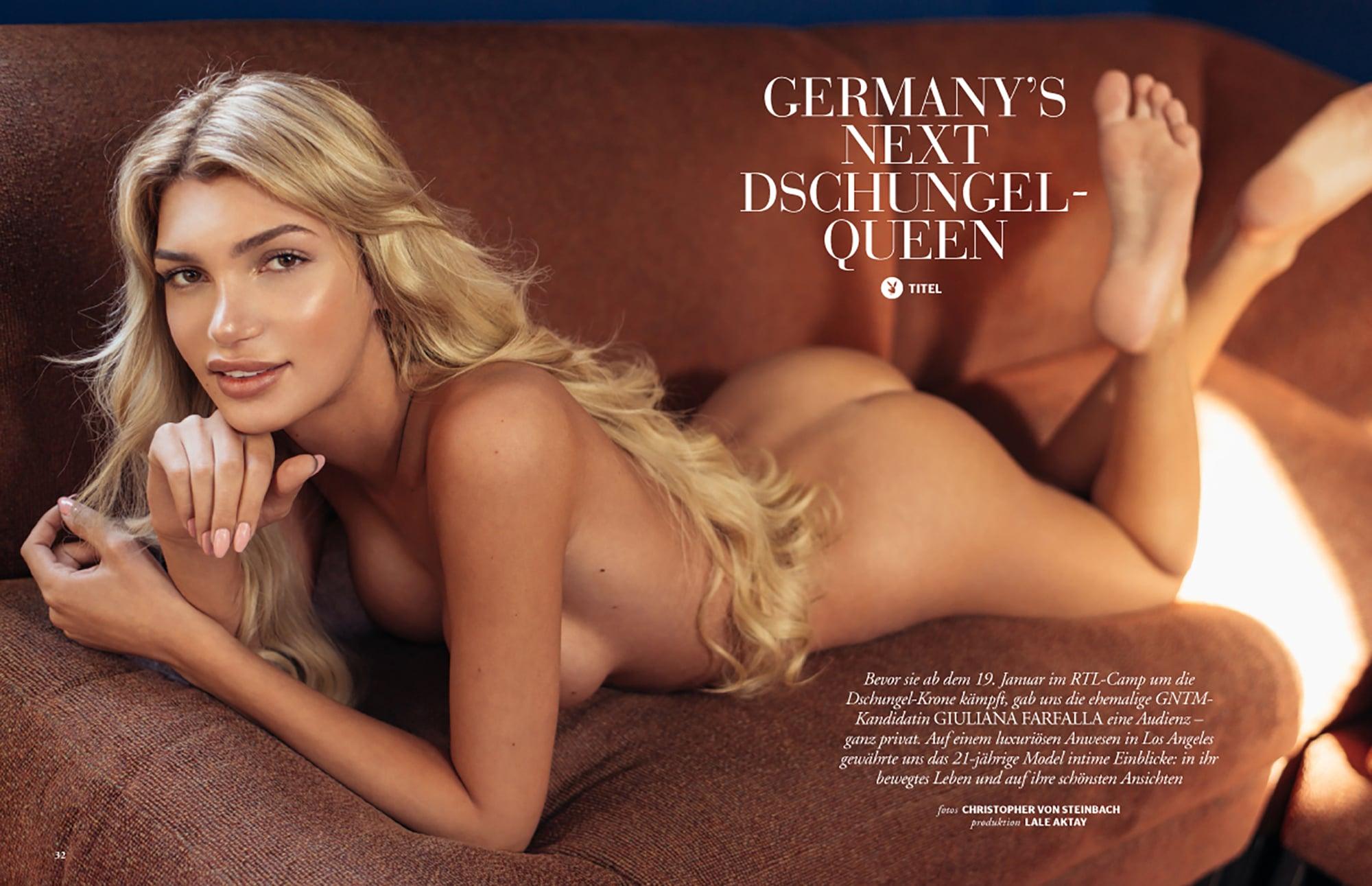 Giuliana Farfalla auf dem Cover des
