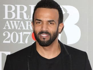Craig David - BRIT Awards 2017 - Arrivals - 2