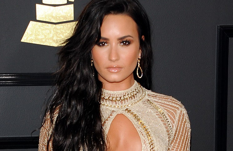 Demi Lovato - 59th GRAMMY Awards - 2