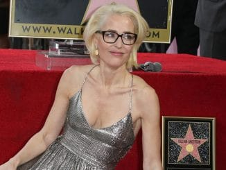 Gillian Anderson Honored with a Star on the Hollywood Walk of Fame