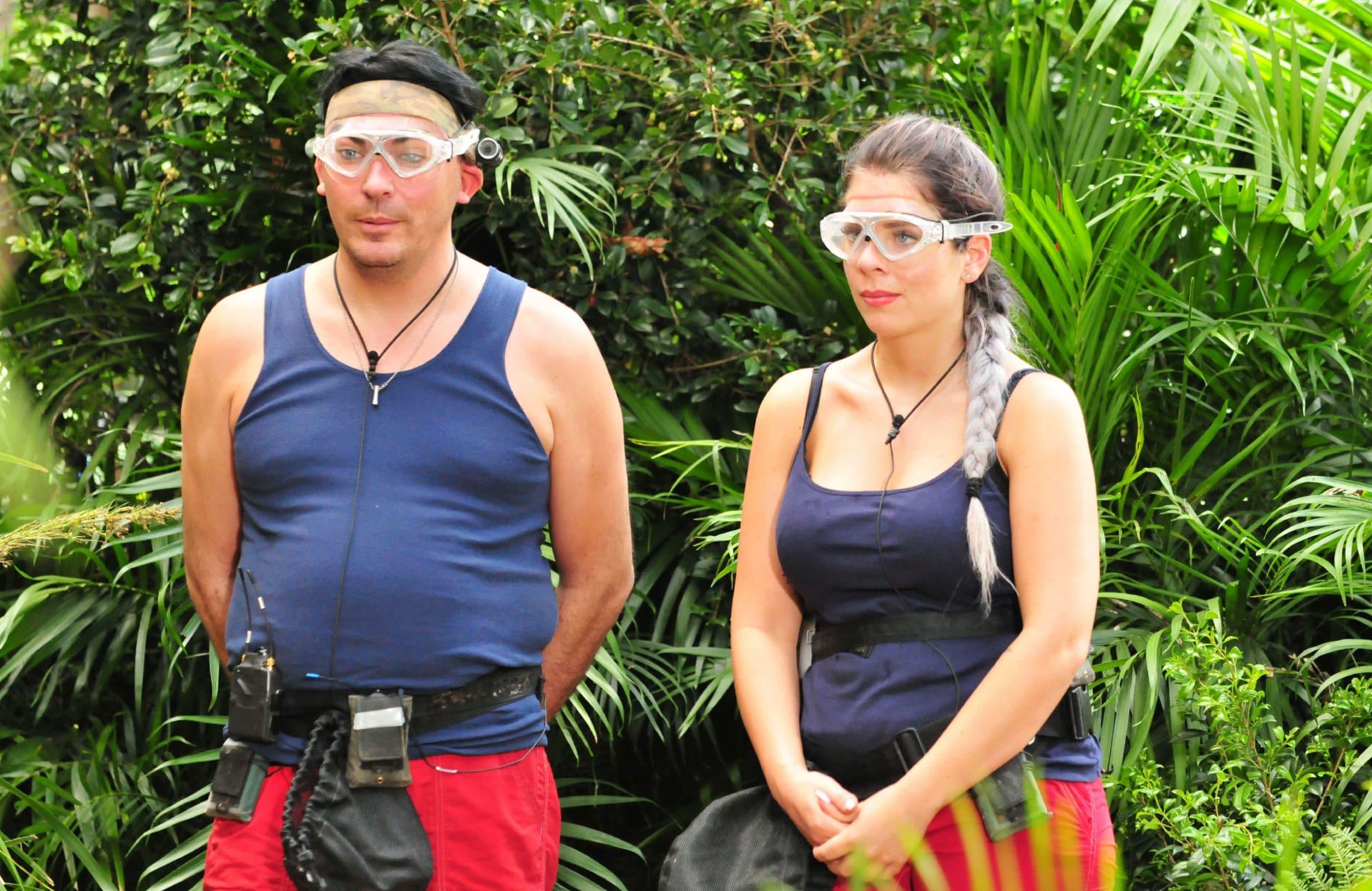Jenny Frankhauser und Matthias Mangiapane Ich bin ein Star _ Holt mich hier raus!