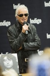 """Jimmy Page Stamps Copies Of His New Book """"Jimmy Page"""""""