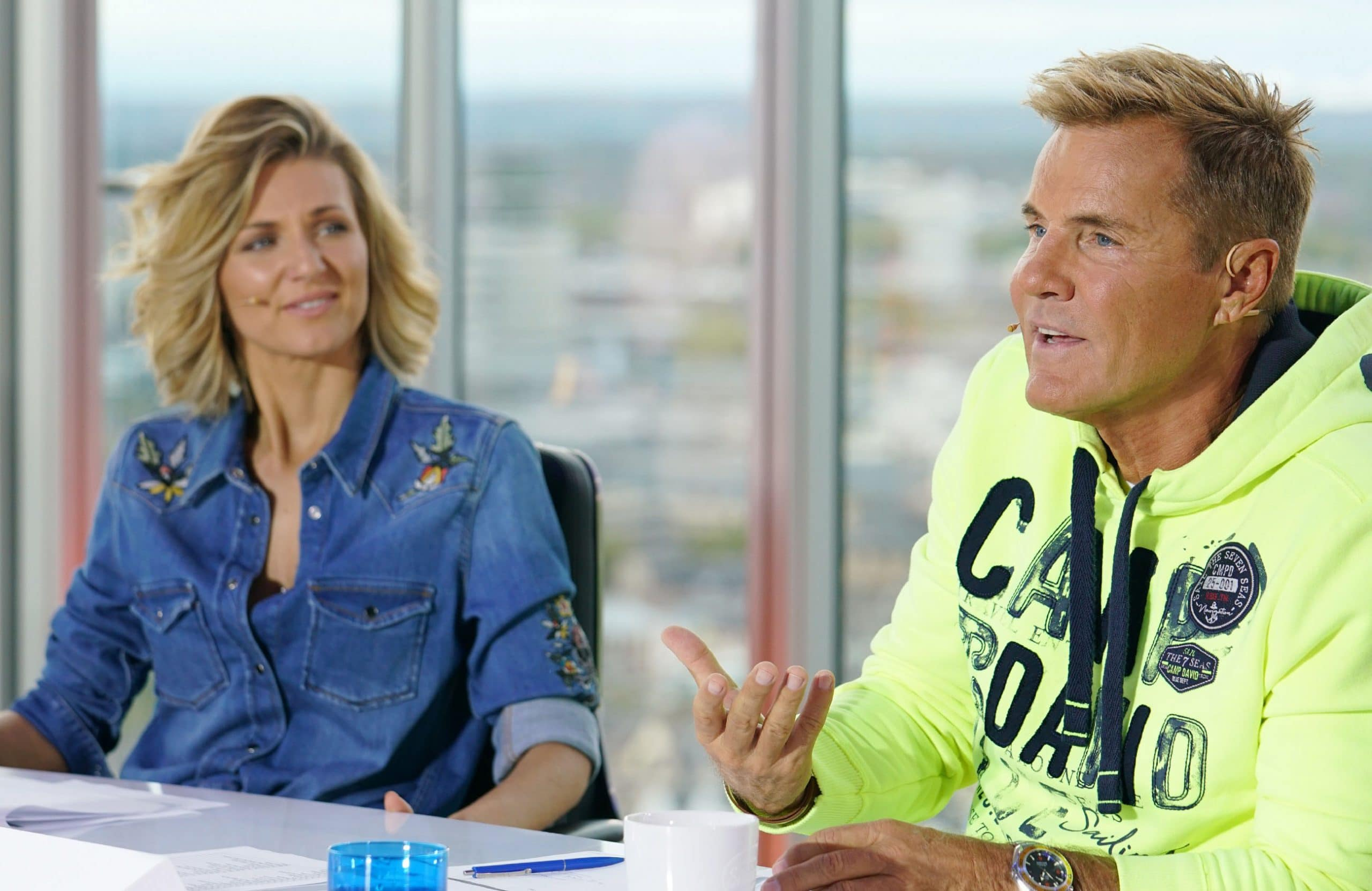Ella Endlich und Dieter Bohlen - Deutschland sucht den Superstar