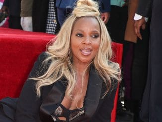 Mary J. Blige Honored with a Star on the Hollywood Walk of Fame