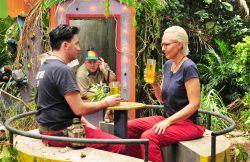Natascha Ochsenknecht und Matthias Mangiapane auf der Kirmes - Ich bin ein Star _ Holt mich hier raus!