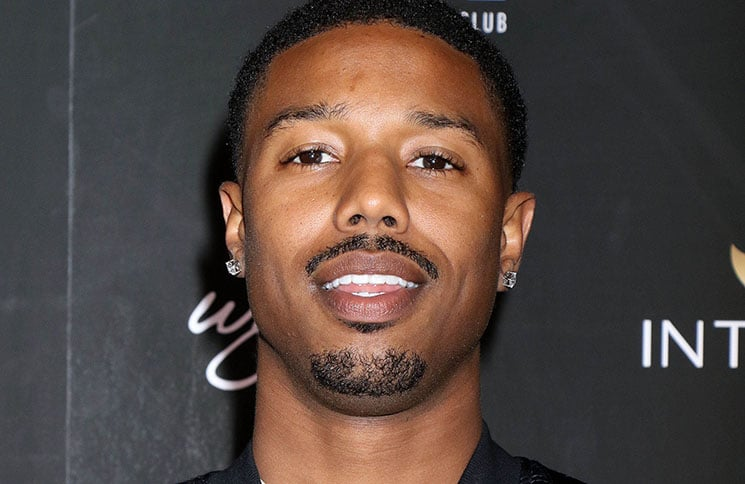 Michael B. Jordan - Intrigue Nightclub Las Vegas Grand Opening