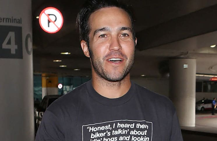 Pete Wentz Sighted at LAX Airport in Los Angeles on September 19, 2017