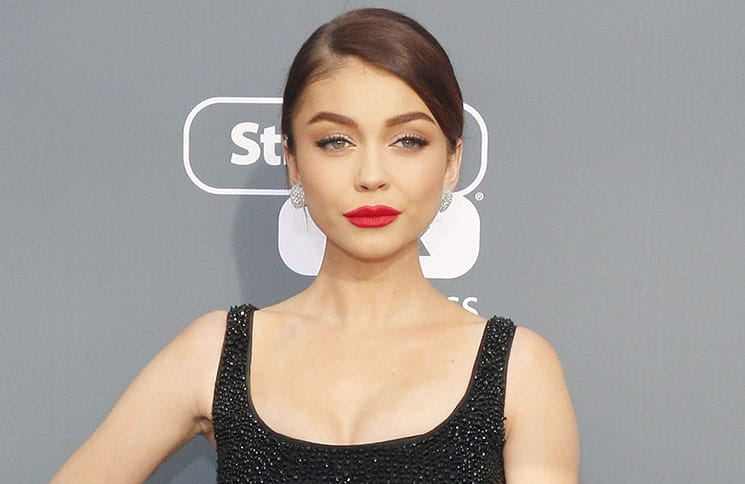 Sarah Hyland - The 23rd Annual Critics' Choice Awards
