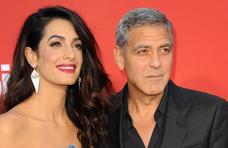 "Amal Clooney and George Clooney - ""Suburbicon"" Los Angeles Premiere - 3"